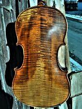 "Alte Geige m. Zt. ""J. GUARNERIUS CREMONAE ANNO 1735 IHS"""