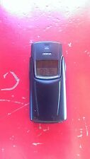 RARE TITAN NOKIA MANDE IN FINLAND 8910i cell phone Black original authentic