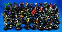 LOT of 50 Bulk Marvel Hero Wizkids Neca Heroclix Miniatures Game Figure K521x50