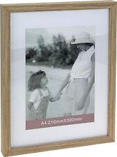 A4 Holz Zertifikat Foto Bilder Rahmen Behandelt MDF Mit Karton Montieren