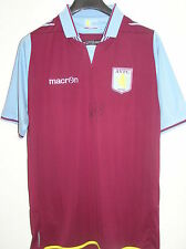 Ciaran Clark Signed Unworn + Tags Attached Aston Villa FC 2012/13 Home Shirt