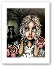 FANTASY ART PRINT Pssst Angelina Wrona