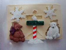 Sugarcraft Mold Mould  for sugarcake,Cupcake, Clay- Christmas #6