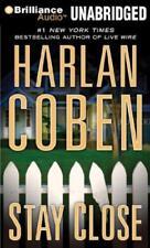 Stay Close Unabridged Harlan Coben AUDIO BOOK CD MP3 suspense detective case