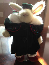 "Hoppy VanderHare ""A Christmas Carol"" holiday outfit Coat Hat Nabco Stand"