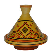 Moroccan Tagine Tajine Tangine Pot Ceramic Serving Appetizer Dish extra Small