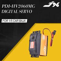 JX PDI-HV2060MG 6-7.4V High Voltage 62KG Metal Gear Digital Servo for 1/5 RC Car