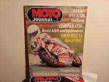 moto journaln566 22jui1982 essai 495ktm bmwr65ls guzzi v65  tournadre