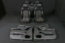 Audi A8 4H Alcantara Leder SITZE Lederausstattung Innenausstattung schwarz seats