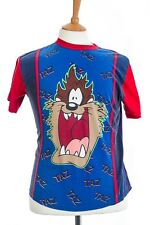 Taz Size 11-12 Years 100% Cotton Blue and Red Boys T Shirt Height 152 cm