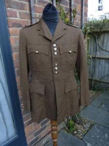 Scots Guards Officer's British Army Military Khaki Tunic / Service Dress Jacket