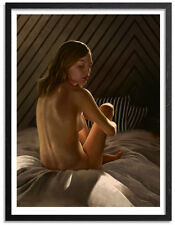 Aaron Nagel Surface Giclee Print Poster Signed #d /100 Nude Rare SOLD-OUT New