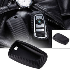 1x Keyless Remote Cover Case-Carbon Fiber Style Fit BMW 1 3 4 5 6 7 X1 X3 Series