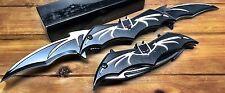 """12"""" Batman Knife Spring Assisted Folding Blade Pocket Dark Knight Tactical Joker"""