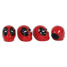 4PCS Car Wheel Tire Valve Stem Caps Marvel Deadpool