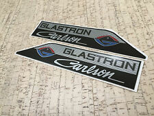 "Glastron Carlson set of two decals / 13"" x 2,5"" (33 cm x 6,35 cm) /"