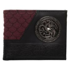 House Targaryen - OFFICIAL Game of Thrones Bifold Wallet by Bioworld Dragons