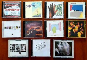 11 X Genesis CD's RARE FIRST PRESSINGS/LIVE OZ CD (14 CD Total BULK LOT)