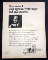 Life Magazine Ad SUGAR 1969 AD