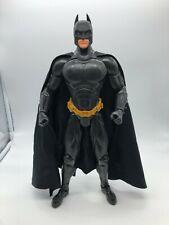 """Batman Begins Action Cape Batman 14"""" Adjustable Figure Mattel 2005 Dc Comics"""