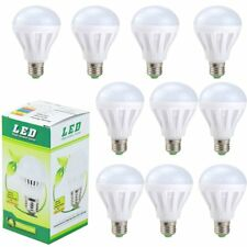 10 Pack 75W Equivalent 120V E26 1500Lm Non-Dimmable White LED Light Bulb