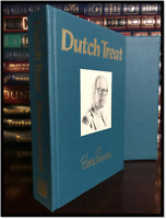 Dutch Treat ✎SIGNED✎ by ELMORE LEONARD Limited Edition  #85/350 1st Ed Justified