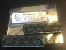 4x 4MB 30-Pin 9-Chip Parity 80ns FPM Memory SIMMs 16MB Apple Macintosh II 4Mx9