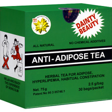 HERBAL ANTI-ADIPOSE TEA-WEIGHT LOSS,LAXATIVE EFFECT,DETOXIFYING,30 BAGS