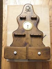 Rare Antique Cooper Made In America Wall Barometer Humidity  Gauge Vintage