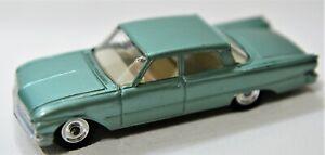 Dinky Toys 148 Ford Fairlane 1965-1967 light met green Exc original VHTF