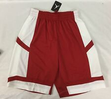 Nike Air Jordan MEN'S Athletic Basketball Loose Shorts Red White 547627 Size M