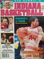 Bob Hammel Indiana Basketball Magazine 1994  A-Train Alan Henderson - Bob Knight