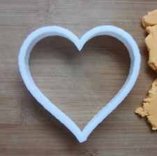 Heart Shape Cookie Cutter Biscuit Pastry Fondant Stencil