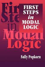 First Steps in Modal Logic by Popkorn, Sally