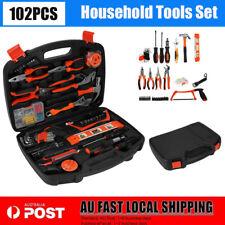 Tool Kit Set Box Home Car Tool Set DIY Tool Kit Household Spanner Screwdriver AU