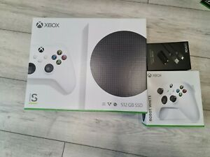 Microsoft Xbox Series S 512GB + Extra Controller + Charge Kit