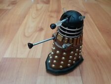 "3.75"" DR DOCTOR WHO CLASSIC GOLD DALEK WITH BLACK TOP ACTION FIGURE"