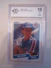 1990 GARY CARTER BASEBALL CARD #199 - BCCG GRADED 10 MINT OR BETTER - TUB BN-20