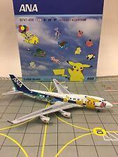 RARE Big Bird / Aeroclassics Scale 1:400 ANA Boeing 747-400 JA8962 Pokemon