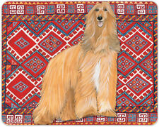 Afghan Hound Tempered Glass Large Cutting Board 11.5 x 15.5