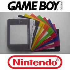 【ツ】Ecran vitre de remplacement game boy DMG-01 gameboy 10 couleurs au choix【ツ】
