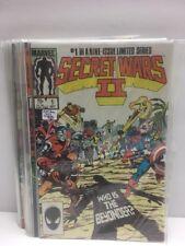Secret Wars II #1-9 Complete Series Set - 1985 Marvel  (VF/NM) X-Men Spider-Man