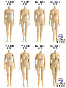 Figure Body Model HENG TOYS 1/12 Half-seamless Female Body Flexible Action Toy