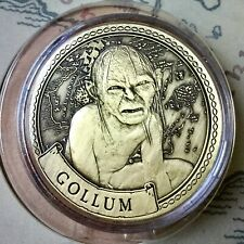 Gollum Lord Of The Rings Limited Edition 38mm Collectors Coin In Capsule