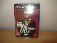 PS2 From Russia With Love GB PAL , neuf & Sony scellé en Usine