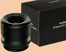 NEW Fuji Fujifilm Fujinon XF 60mm f 2.4 Macro Lens EXPRESS SHIPPING - US, CA, AU