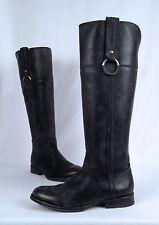 Frye 'Jamie Ring' Riding Boot- Stonewashed Black- Size 7 B   (B15)