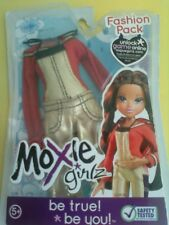 Moxie Bratz Girlz Girl Doll Fashion Pack Gold Overalls Jumpsuit Red Top New