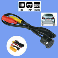 170° Universal Car Reverse Backup Rear View Camera Flush Mount Waterproof Camera