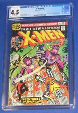 X-Men #98 Comic Book CGC 4.5 1976 Jack Kirby & Stan Lee Cameo Sentinels Uncanny